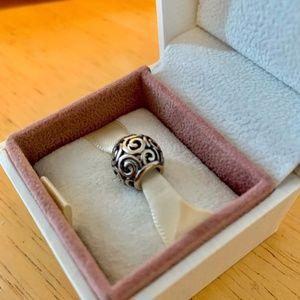 Pandora Compatible Swirly charm